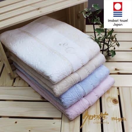 【クロワッサン科羅沙】日本毛巾~今治 CR玫瑰園 浴巾毛巾方巾整組