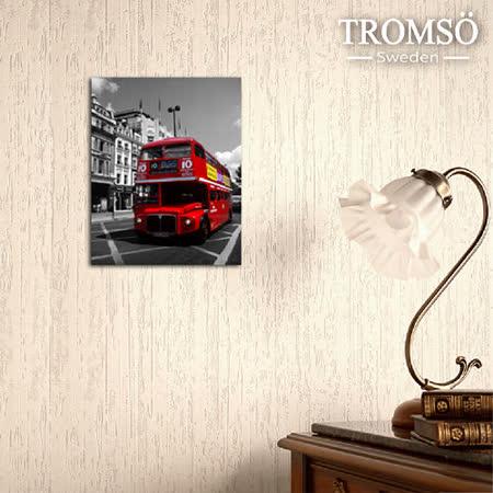 TROMSO時尚無框畫/世界之旅(英倫巴士)