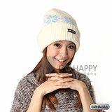 SNOWTRAVEL 3M防風透氣保暖羊毛帽(雪花白)