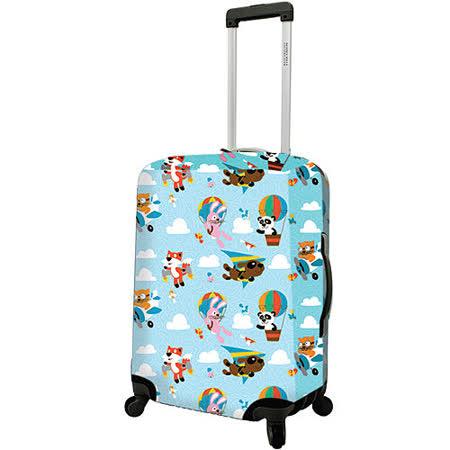 《DQ》24吋行李箱套(熱氣球)