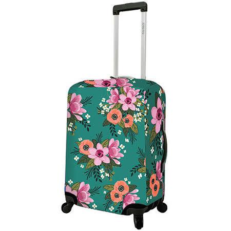 《DQ》24吋行李箱套(花漾綠)