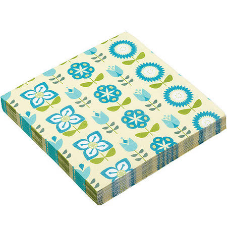 《KitchenCraft》餐巾紙20入(花草)