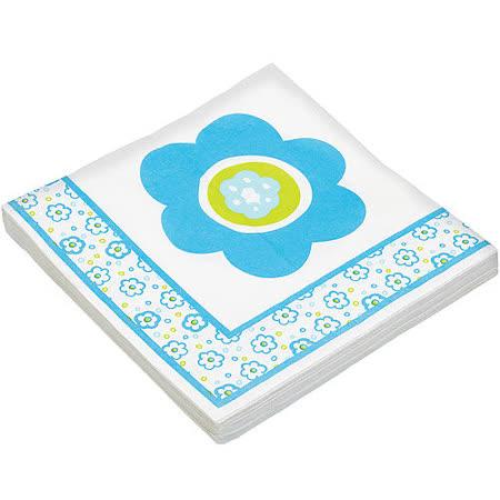 《KitchenCraft》餐巾紙20入(藍花)