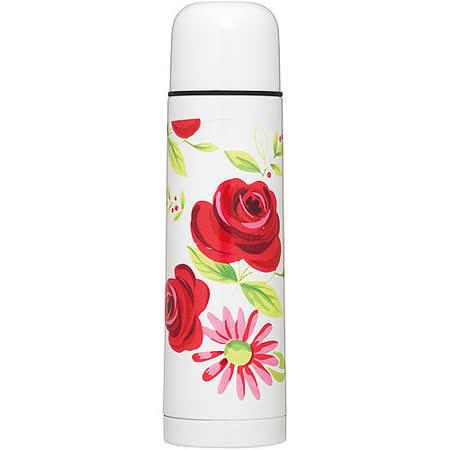 《KitchenCraft》不鏽鋼保溫瓶(玫瑰500ml)