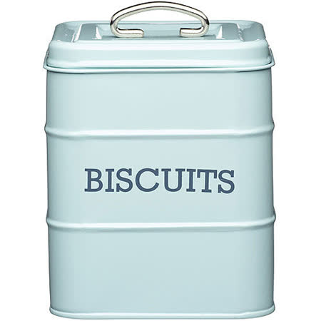《KitchenCraft》復古餅乾密封罐(藍)