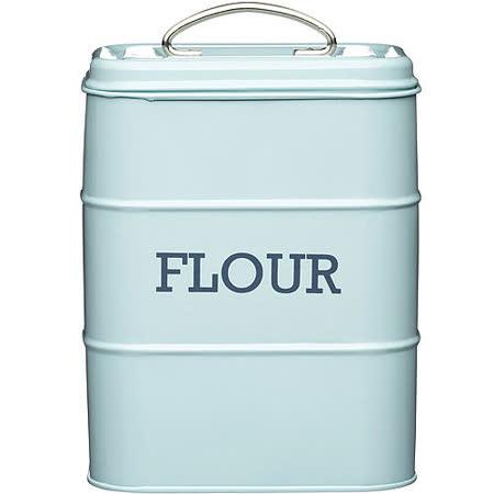 《KitchenCraft》復古麵粉密封罐(藍)