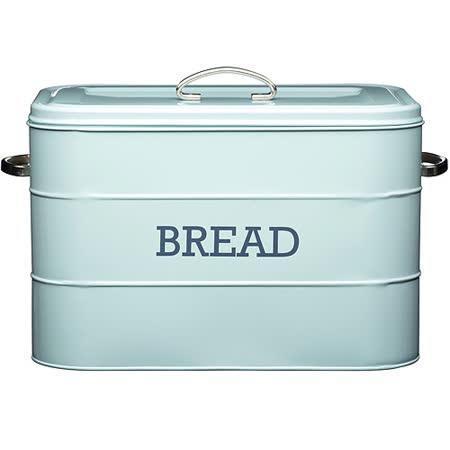 《KitchenCraft》復古麵包收納盒(藍)