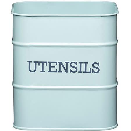 《KitchenCraft》復古收納桶(藍)