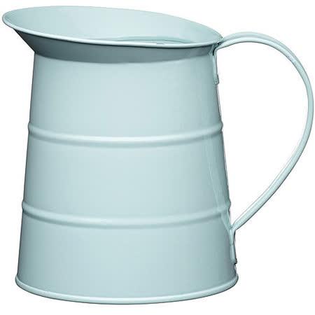 《KitchenCraft》復古花器冷水瓶(藍1.1L)