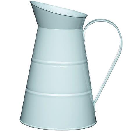 《KitchenCraft》復古花器冷水瓶(藍2.3L)