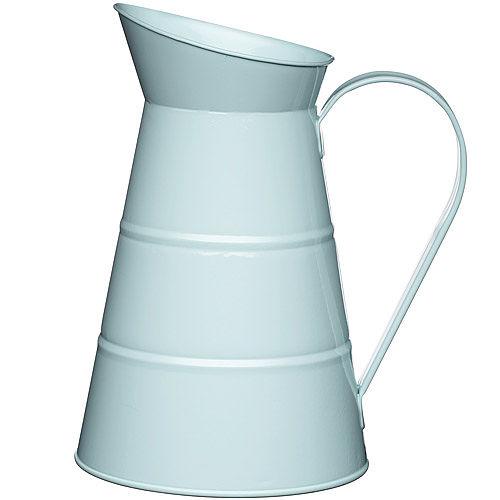 ~KitchenCraft~復古花器冷水瓶 藍2.3L