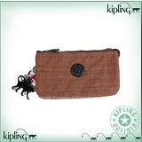 Kipling 比利時品牌Basic系列 方便攜帶3夾層零錢包 中 神木棕 K-374-3265-746