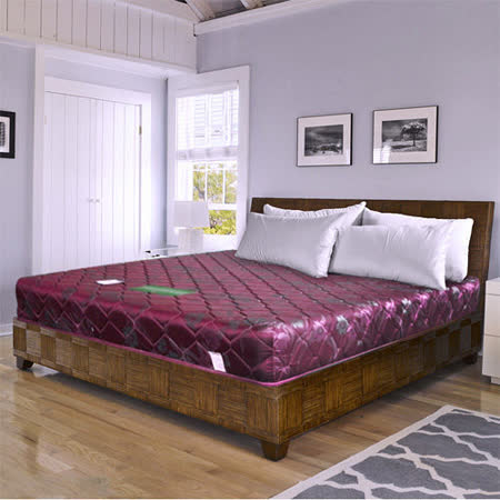 HAPPYHOME 緹花蓆面3尺單人硬式彈簧床墊Q1-008可選色