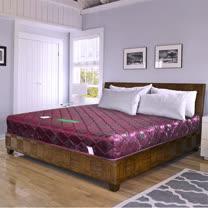 HAPPYHOME 緹花蓆面6尺加大雙人硬式彈簧床墊Q1-006可選色