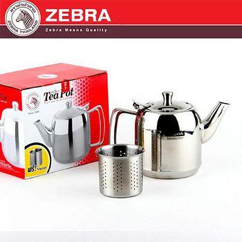 斑馬 ZEBRA 304不鏽鋼泡茶壺(附濾網) 1L