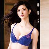 【華歌爾】深V感瘦綺肌D-E罩杯內衣(彩繪紫)