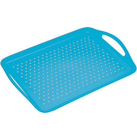 《KitchenCraft》止滑托盤(藍)