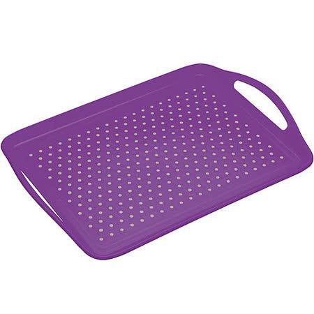 《KitchenCraft》止滑托盤(紫)