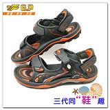 【G.P】休閒多功能氣墊涼鞋 G9153-42(橘色)共三色