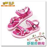 【G.P】時尚休閒涼鞋~G9169W-45(桃紅色)共三色
