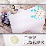 【直買團購價】工學型100%純天然乳膠枕.兩入