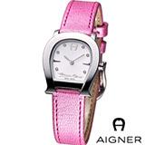 AIGNER 愛格那 淑女名媛 時尚腕錶 AGA45201