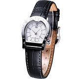 AIGNER 經典馬蹄系列女用時尚腕錶 AGA22218