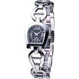 AIGNER Savona 馬蹄型手鍊腕錶 AGA33202