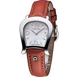 AIGNER 時尚經典馬蹄造型仕女腕錶 AGA46202