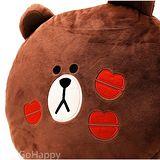 LINE【花漾熊大】舒適抱枕