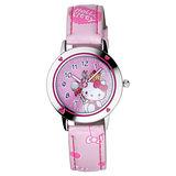 Hello Kitty 心動旋律俏麗腕錶-粉紅