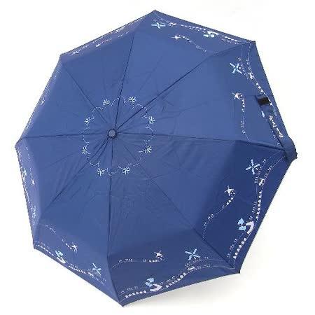【好傘王】自動傘系_瘋車貓國民傘(深藍色)