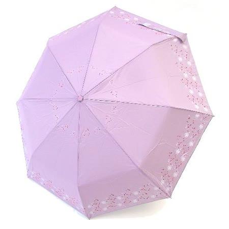 【好傘王】自動傘系_花漫飛舞國民傘(粉紫色)