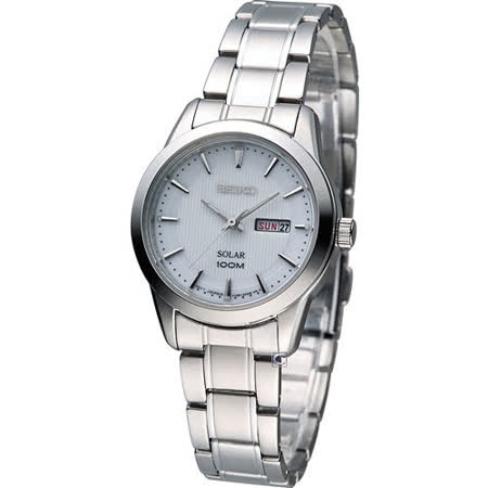SEIKO Solar 精工 太陽能樂活時尚腕錶 V138-0AB0S SUT159P1