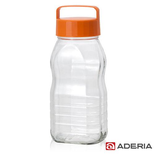 ~ADERIA~ 玻璃梅酒瓶2000ml^(橘^)