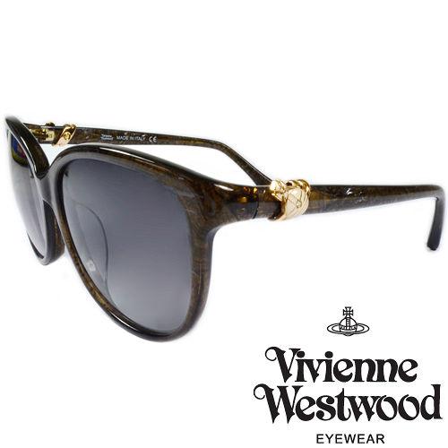 Vivienne Westwood 英國薇薇安魏斯伍德環扣土星太陽眼鏡 ^(墨綠^) VW
