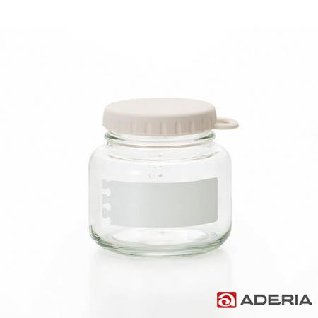 【ADERIA】日本進口易開玻璃保鮮罐320ml(白)