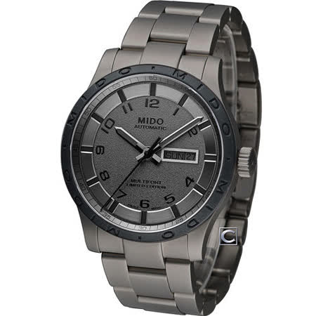 MIDO 美度 Multifort 限量鈦金屬先鋒機械錶 M0184304406200