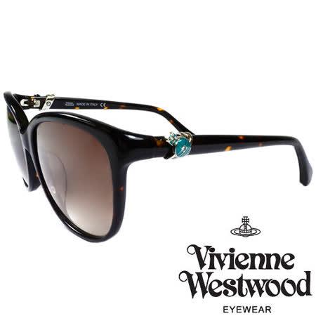 Vivienne Westwood 英國薇薇安魏斯伍德環扣土星太陽眼鏡(琥珀) VW85503