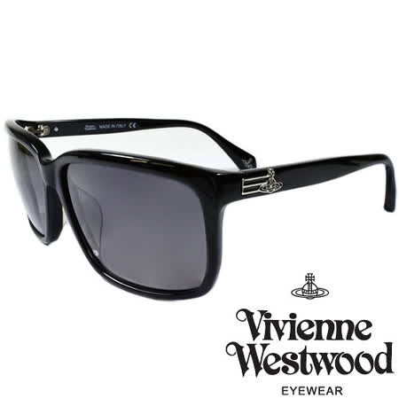 Vivienne Westwood 英國薇薇安魏斯伍德經典土星太陽眼鏡(黑) VW85701