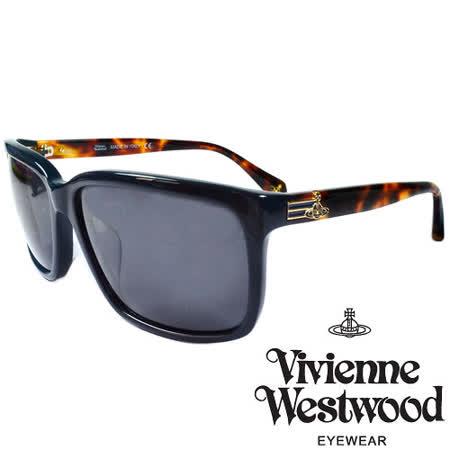 Vivienne Westwood 英國薇薇安魏斯伍德經典土星太陽眼鏡(棕琥珀) VW85702