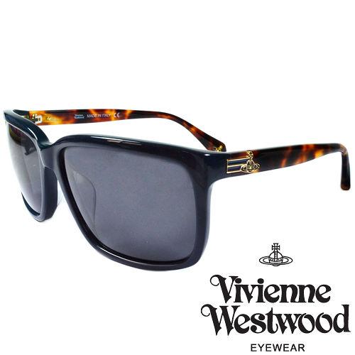 Vivienne Westwood 英國薇薇安魏斯伍德 土星太陽眼鏡^(棕琥珀^) VW8