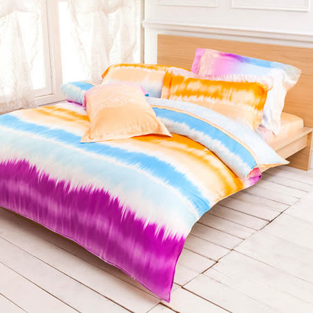 Betrise《絢影情彩》加大100%天絲TENCEL四件式兩用被床包組