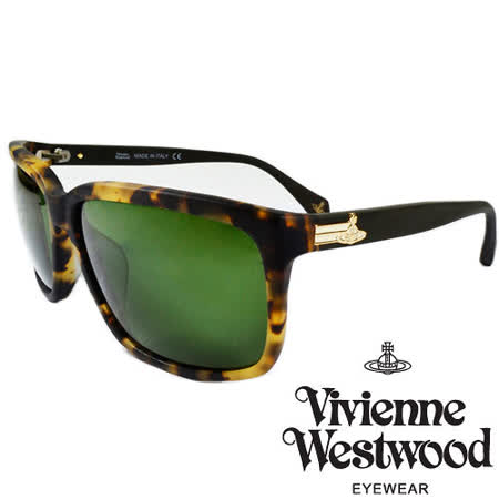 Vivienne Westwood 英國薇薇安魏斯伍德經典土星太陽眼鏡(黃琥珀) VW85704