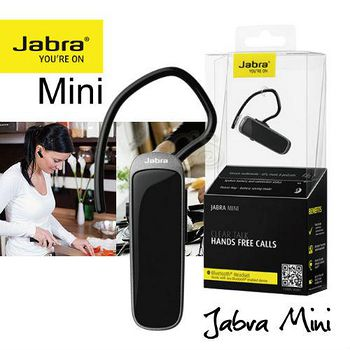 JABRA Mini 迷你 藍牙4.0 雙待機 立體聲藍牙耳機 .