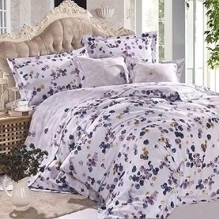 Betrise《鬱朵花開》加大100%天絲TENCEL四件式兩用被床包組