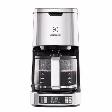 【Electrolux 伊萊克斯】 設計家系列 美式咖啡機 (ECM7814S)