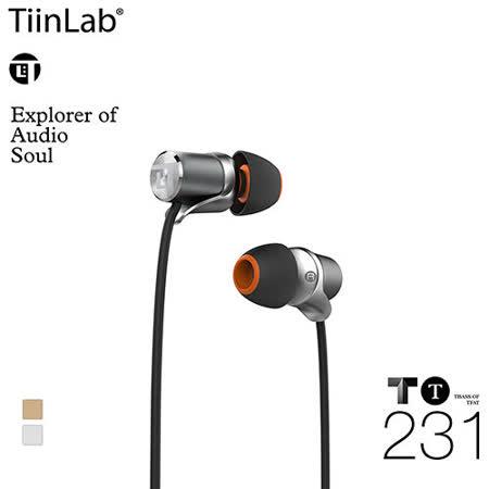 TiinLab TBass of TFAT TT T低音系列 入耳式耳機 TT231