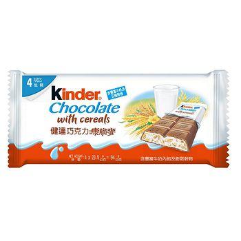 健達康脆麥巧克力4入裝 94g