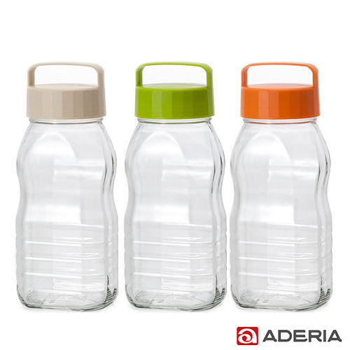 ~ADERIA~ 玻璃梅酒瓶套組2000ml